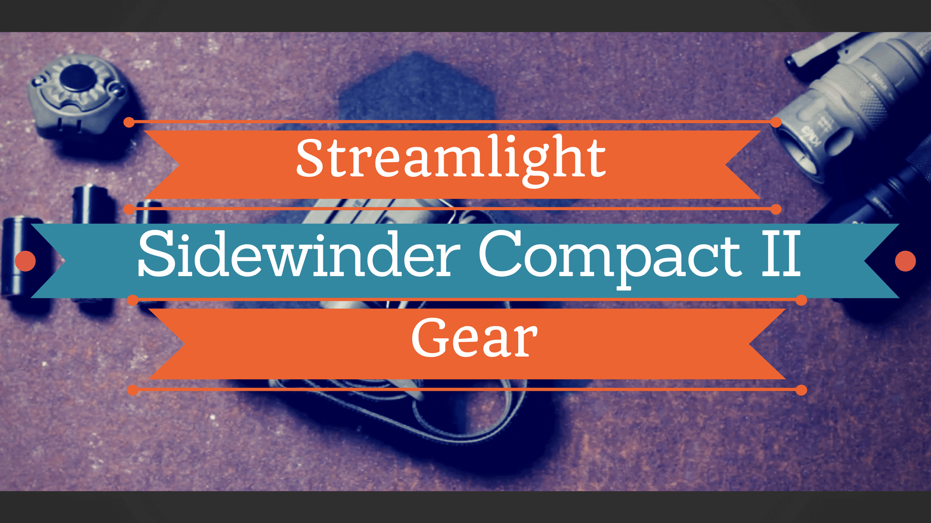Streamlight Sidewinder Compact II Gear
