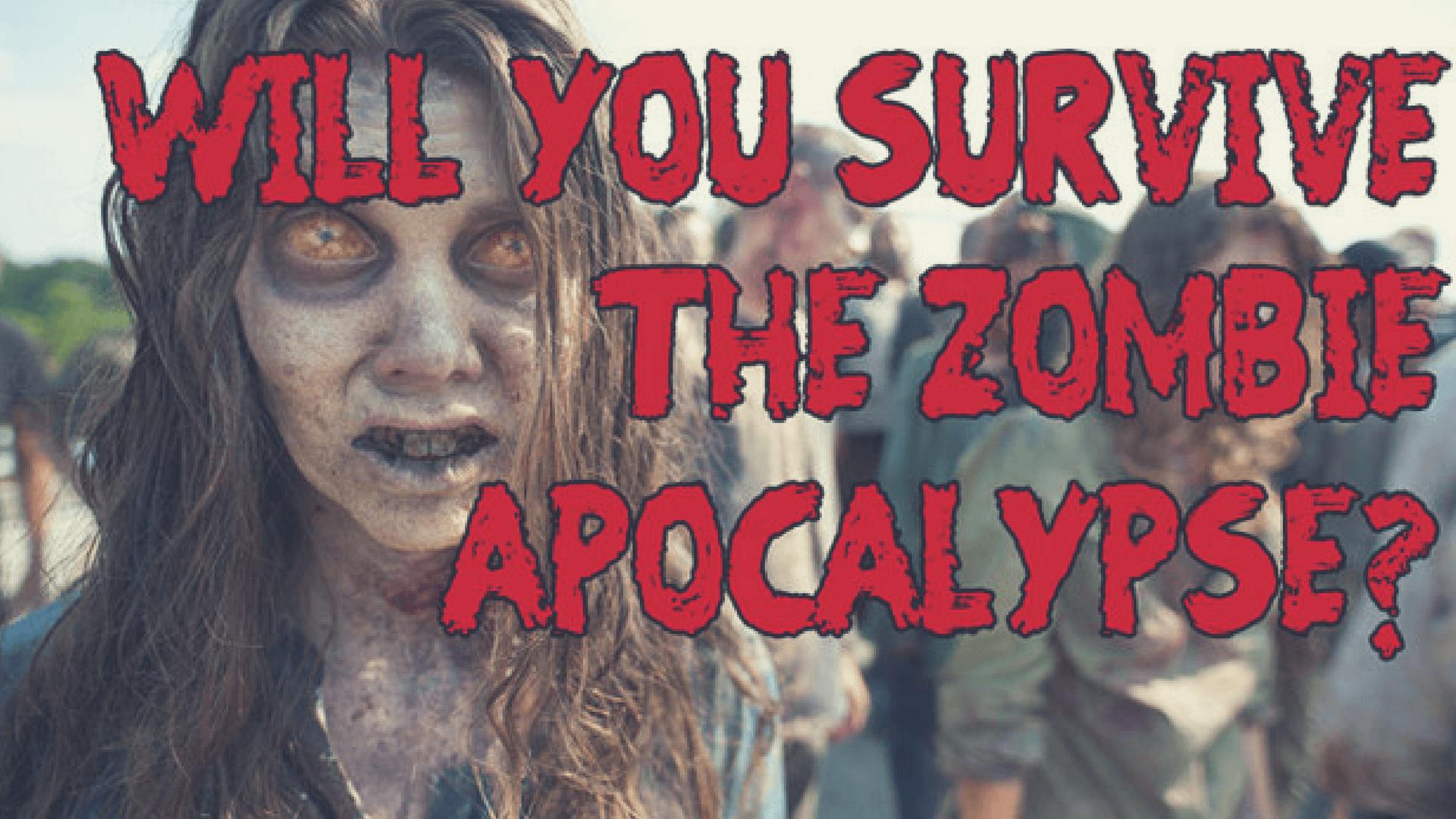 Likeliness of a zombie apocalypse