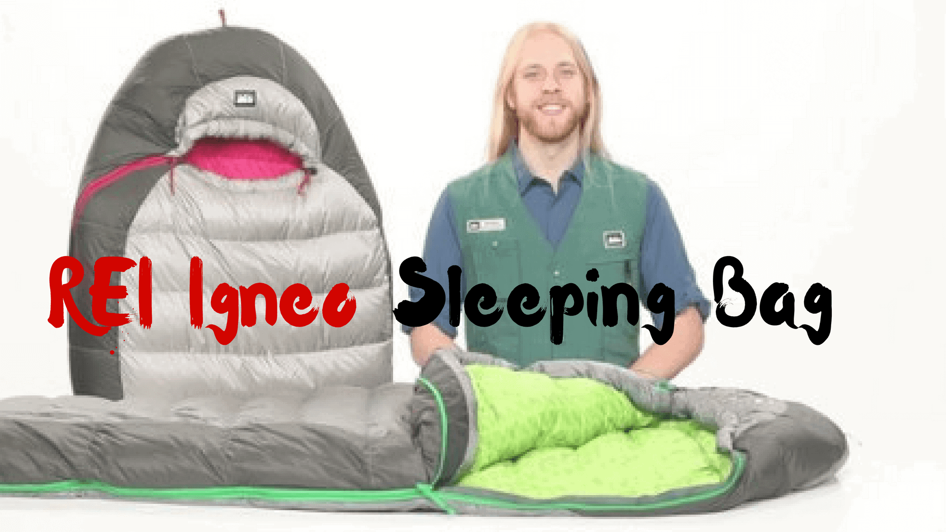 REI Igneo Sleeping Bag Review