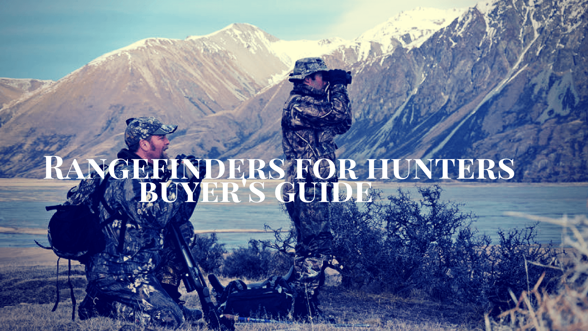laser Rangefinders for hunting
