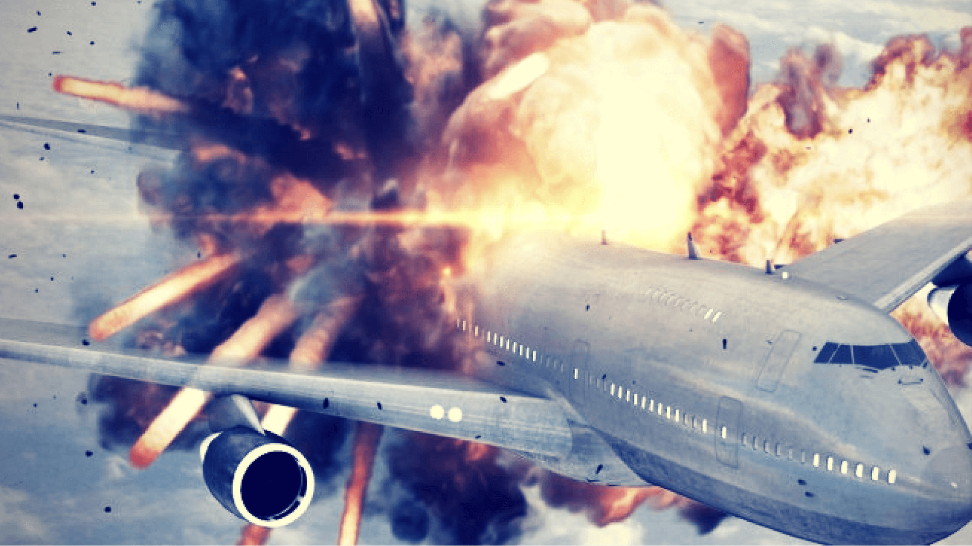 surviving an exploding plane
