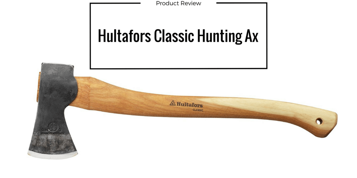 Hultafors Classic Hunting Ax / Hunters Axe Outdoor Gear Review